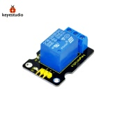 Brand New Keyestudio Single Relay Module For Arduino Compatible - Black