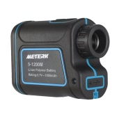 Meterk 600m 900m 1200m 1500m / 656yd 984yd 1312yd 1640yd Outdoor Compact Portable Handheld Laser Distance Meter Telescope Digital 8x25 Monocular Rangefinder High-precision Range Finder M/Yard Distance Measurement Tool Distance Meter for Golf Hunting Engineering Survey Construction Hiking