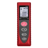KKmoon Mini Handheld 40m/131ft 60m/192ft Digital Laser Distance Meter Range Finder Diastimeter Distance Area Volume Measurement   High-precision Rangefinder m/in/ft