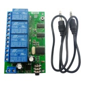 The New 4CH DTMF Audio Decoding Relay Control Instructions Can Modify the Remote Control Module