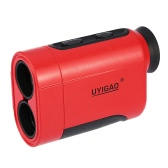 UYIGAO 600m 6X Handheld Monocular Laser Range Finder Telescope Outdoor Distance Measurement Tool Distance Meter for Golf Hunting Engineering Survey