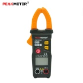 PEAKMETER PM2016A Handheld Smart Digital Mini LCD Clamp Meter Multimeter AC/DC Voltage AC Current Resistance Measuring