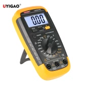 UYIGAO Brand New Portable Mini Digital LCD Multimeter Meter Tester Inductance Resistance Capacitance hFE Triode Measurement