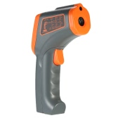 SMART SENSOR -32~700℃ 12:1 Non-contact IR Infrared Thermometer Portable Handheld Digital Temperature Tester Pyrometer LCD Display with Backlight Centigrade Fahrenheit Adjustable Emissivity Data Storage