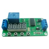 1CH 12V Digital Tube Multi-function Delay Relay LED Timer Switch PLC Smart Home