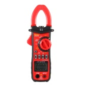 UYIGAO UA2008B Handheld Digital LCD Clamp Meter Multimeter DC/AC Voltage AC Current Resistance Temperature Frequency Duty Ratio Measurement