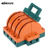 KKmoon 63A Double-throw 4-Pole Disconnect Knife Switch Circuit Breaker Backup Generator for Industrial Household Use