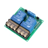 2-Channel DC 12V 30A Relay Board Module Optocoupler Isolation High/Low Trigger