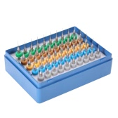 50pcs 0.5+0.6+0.7+0.8+0.9mm Tungsten Carbide Micro Drill Bits Set Engraving Tools for PCB Circuit Board