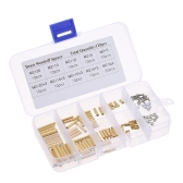 Spacing M3/M2 Screw Cylindrical Brass Threaded Pillar PCB Hex Standoff Spacer Male to Female DIY Set Stainless Steel Nut Assortment Mounting Hardware Kit
