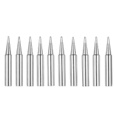 10PCS Soldering Iron Tips Replacement Solder Tip Lead-free Screwdriver Iron Tip 900M-T for Hakko 936 907 Soldering Rework Station Tool Kit