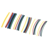 140PCS 7 Color Polyolefin Halogen-Free 2:1 Heat Shrink Tubing Shrinkable Tube Sleeving Wrap Wire Cable Kit φ1.0-φ5.0mm