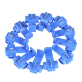 100PCS Blue Scotch Lock 16-14 AWG Connectors Electrical Wire Cable Insulated Quick Splice Crimp Terminals