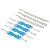 7pcs Stainless Steel Comb Picks Lock Opener Locksmith Tools