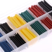 280pcs 8 Sizes Professional Colorful Polyolefin 2:1 Halogen-Free Heat Shrink Tubing Tube Sleeving φ1.0-φ10.0