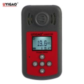 UYIGAO Brand New Handheld Portable Automotive Mini Oxygen Meter High Precision O2 Gas Tester Monitor Detector with LCD Display Sound and Light Alarm