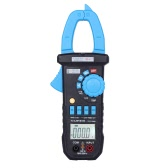 Digital LCD Clamp Meter Multimeter DC/AC Voltage AC Current Resistance Capacitance Continuity Diode Measurement Tester Auto/Manual Range