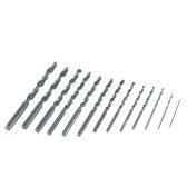 13pcs/set Metric System 1.5-6.5mm High-speed Steel Twist Drill Bit Set High Quality HSS Woodworking Wood Metal Drilling Tool