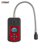 UYIGAO Brand New Handheld Portable Automotive Mini Combustible Gas Detector Gas Leak Location Determine Tester with LCD Display Sound and Light Alarm
