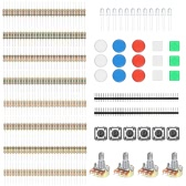 Component Switch Button Resistors Basic Element Electronic Parts Pack Kit for Arduino Experiment
