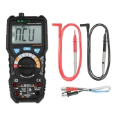 BSIDE 6000 Counts Auto Range True RMS Multi-functional Digital Multimeter DMM with NCV Detector DC AC Voltage Current Meter   Resistance Diode Capacitance Frequency Live Line Tester Temperature hFE Measurement Continuity Test HZ Backlight LCD Display