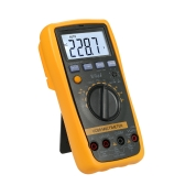 Vici Auto Range Multi-functional Digital Multimeter DMM with CMOS TTL Logic Detector DC AC Voltage Current Meter Resistance Capacitance Frequency Diode Temperature Tester Transistor hFE Measurement Multi Meter Continuity Test Backlight 4000 LCD Display