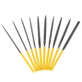 10Pcs High Quality Polishing Tools File Set Flat Needle Grinding Tools