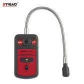 UYIGAO Brand New Handheld Portable Automotive Mini Combustible Gas Detector Gas Leak Location Determine Tester with Sound and Light Alarm