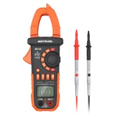 Meterk 4000 Counts Digital Clamp Meter AC/DC Voltage Current Portable Handheld LCD Diaplay Auto-ranging Clamp Multimeter w/ Backlight Capacitance Resistance Frequency Diode Hz Tester