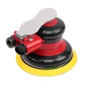 "12000RPM 5"" PSA/Hook Pad Air Random Orbital Sander Pneumatic Palm Polisher Non-Vacuum Orbit Polisher Dual Action Polishing Grinding Sanding Waxing Tool"