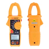 PEAKMETER PM2018A Handheld Digital LCD Clamp Meter Multimeter AC/DC Voltage AC Current Resistance Continuity with Backlight