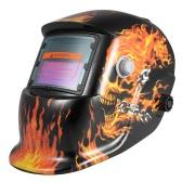Solar Energy Welding Helmet Auto Darkening Welding Helmets Welder TIG MIG Grinding Mask Robot Style