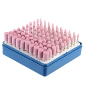Electric Grinding Accessories 100pcs Abrasive Stone Point Polishing Grinding Head Wheel Tool Kit For Rotary Tools