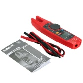 UNI-T UT256B True RMS Digital Fork Meter Clamp Multimeter AC/DC Volotage Current Resistance Capacitance NCV Test with Adjustable Backlight