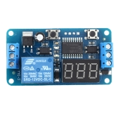 12V LED Digital Display External Trigger Delay Timer Control Switch Relay Module