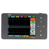 DS202 Mini 2-channel Digital Oscilloscope USB Interface Full Color TFT Display 8MB Memory Storage 1MHz 10MSa/s
