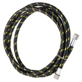 "Professional Nylon Braided Airbrush Hose with Standard 1/8""*1.8m(5.9ft) Size Fitting on One End and a 1/8in"