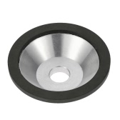 Professional 100x20x10x5mm Resin Diamond Grinding Wheel Cup for Tungsten Steel Milling Cutter 240 Grit Tool Sharpener Grinder Accessories 100mm