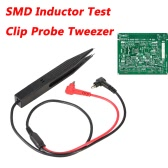 UYIGAO Brand New Handheld SMD Inductor Test Clip Probe Tweezer for Resistor Multimeter Capacitor
