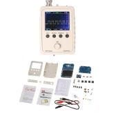 "2.4"" TFT Handheld Pocket-size Digital Oscilloscope DIY Kit Parts with Case SMD Soldered Electronic Learning Set 1MSa/s 0-200KHz"