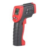 Meterk MK420 -50~420°C 12:1 Multifunctional Mini Handheld Non-contact Digital LCD IR Infrared Thermometer Temperature Tester Pyrometer with Backlight Adjustable Emissivity
