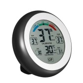 °C/°F Digital Thermometer Hygrometer Temperature Humidity Meter Max Min Value Trend Display