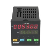 MYPIN Multi-functional Intelligent 90-260V AC/DC Preset 6 Digital Counter Length Counter Length Meter Relay Output PNP NPN
