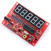 50MHz Crystal Oscillator Frequency Counter Tester DIY Kit 5 Digits Resolution