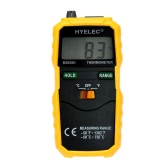HYELEC MS6501 LCD Screen -50℃~ 750℃ / -58℉~1382℉ K Type Data Hold Digital Thermometer