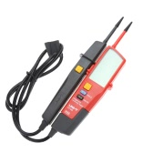 UNI-T UT18D Auto Range Voltage and Continuity Tester with LCD Backlight Date Hold RCD Test and Self-inspection