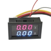 DC100V 300A 2 in 1 Digital Voltage Current Tester Meter Dual Display Voltmeter Ammeter with Shunt