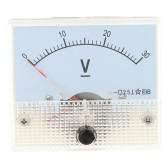 DC0-30V Analog Voltage Panel Meter Tester Voltmeter Gauge