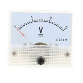 DC0-15V Analog Voltage Panel Meter Tester Voltmeter Gauge