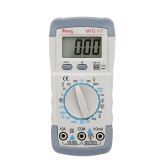 MTQ 111 Mini 31/2 Digital Multimeter DMM Voltmeter Ammeter Ohmmeter hFE Tester with Date Hold LCD Backlight 1.5V Battery Test Diode and Continuity Test